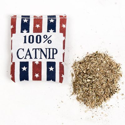Uploaded To100% Linen Square Shape Catnip Bags cat Catnip Toy