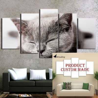 custom canvas print on your wall have any image printed kitterbeans