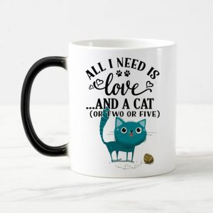 cute cats magic mug