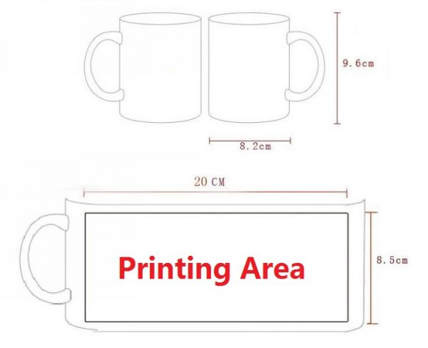 Custom Magic Mug / Personalized Color Changing Mug