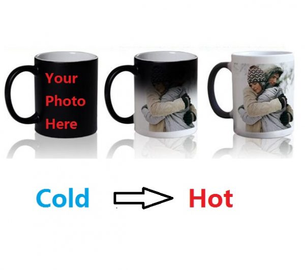 Personalized Magic Mug / Color Changing Mug